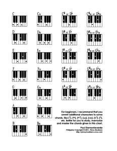 Pianoakkorder 8 trinn
